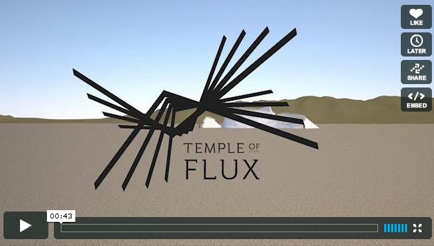 Burning Man Temple 2010 Animation