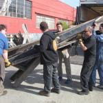Loading at the Shipyard