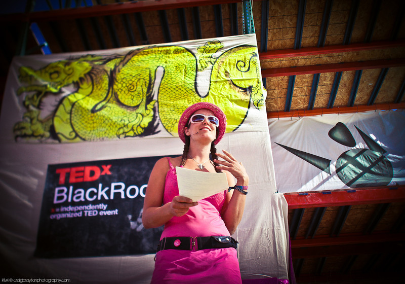 TEDxBlackRockCity: Jess Hobbs on How to Make Mountains