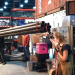 Jen leading the pipe